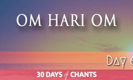 Day 6 | OM HARI OM