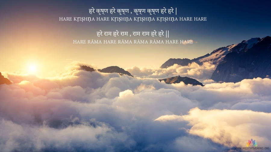 Hare Krishna Hare Rama Mantra Wallpaperhd And Meaning