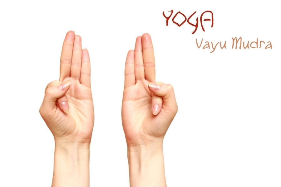 Vayu Mudra Example Picture