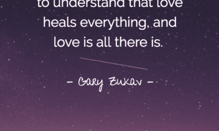 Love Heals Everything