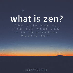 Daily Quote - Mindfulness - What is Zen