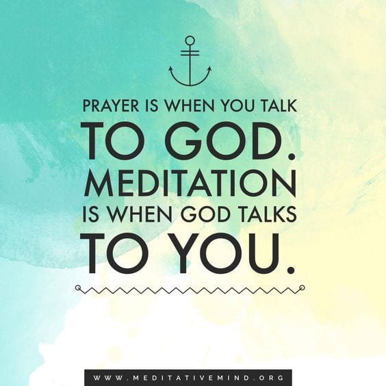 Meditation Quote - Its like talking to God - Meditation Music by Meditative Mind