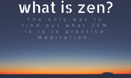 Today's Quote(22.07.2017) : What is Zen?
