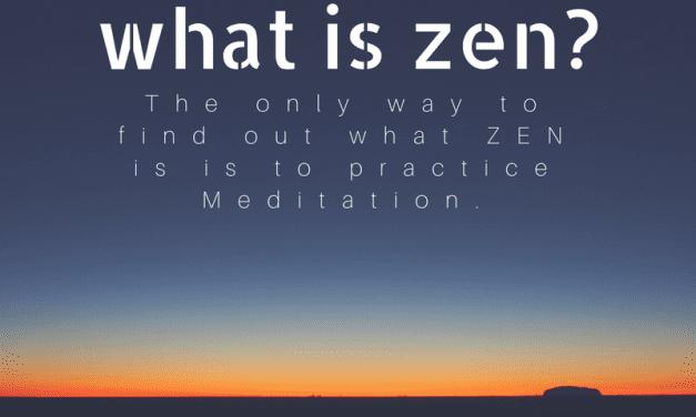 Today's Quote(22.07.2017) : What is Zen?