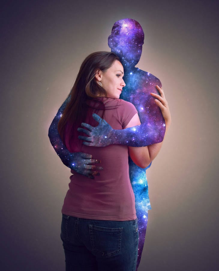 Allow the universe to hug you - embrace you - Meditative Mind