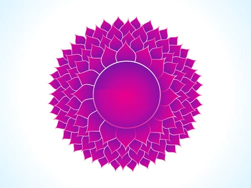 Sahasrara The Crown Chakra Symbol Meditative Mind