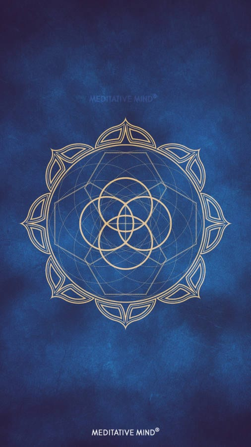 Golden Mandala Wallpaper3 by MeditativeMind