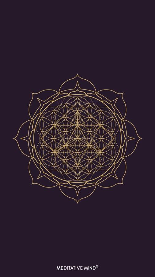 Golden Mandala Wallpaper4 by MeditativeMind
