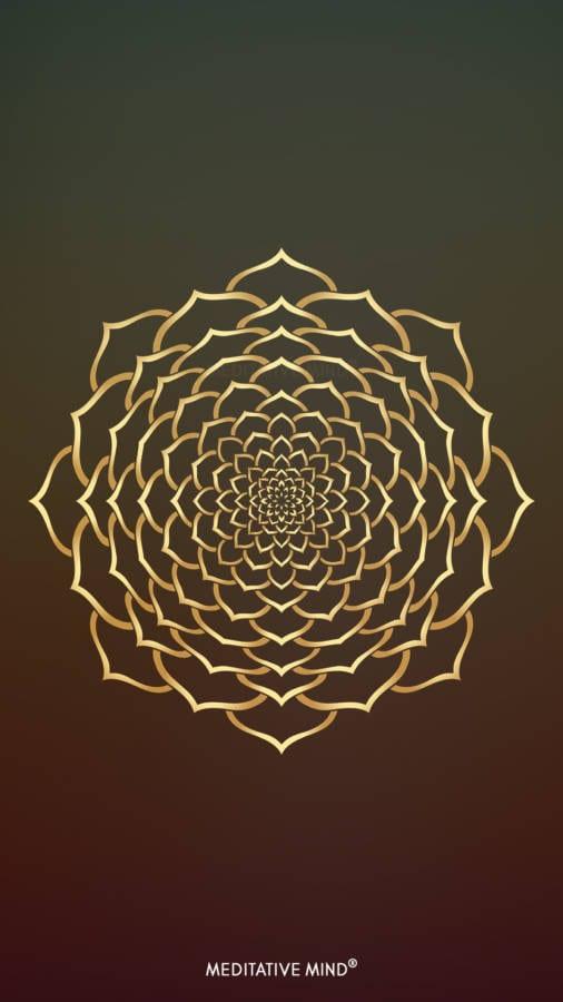 Golden Mandala Wallpaper5 by MeditativeMind
