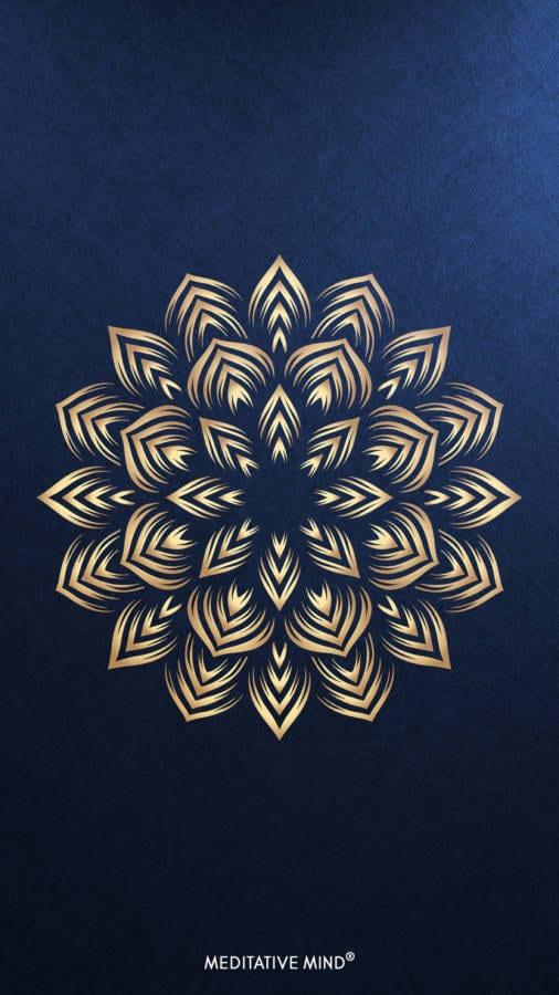 Golden Mandala Wallpaper6 by MeditativeMind