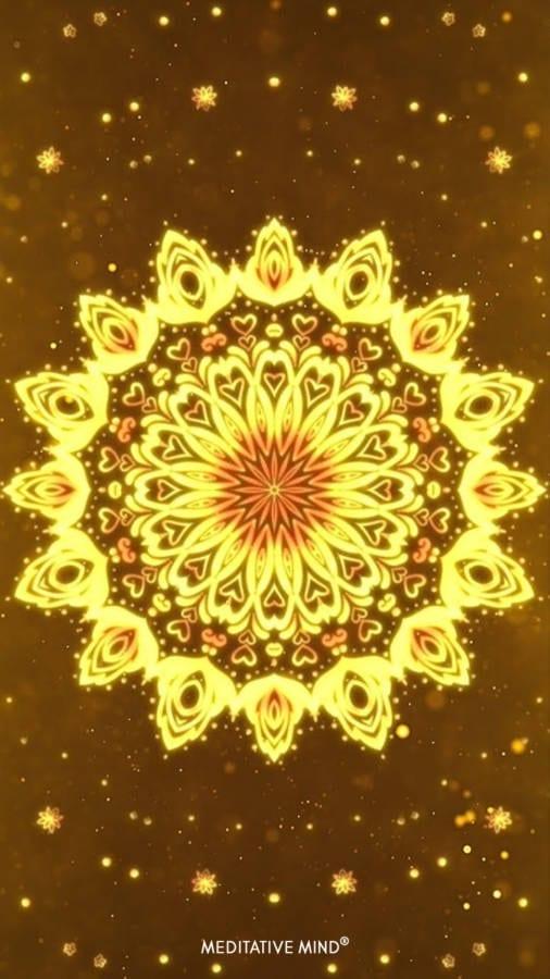 Golden Mandala Wallpaper7 by MeditativeMind