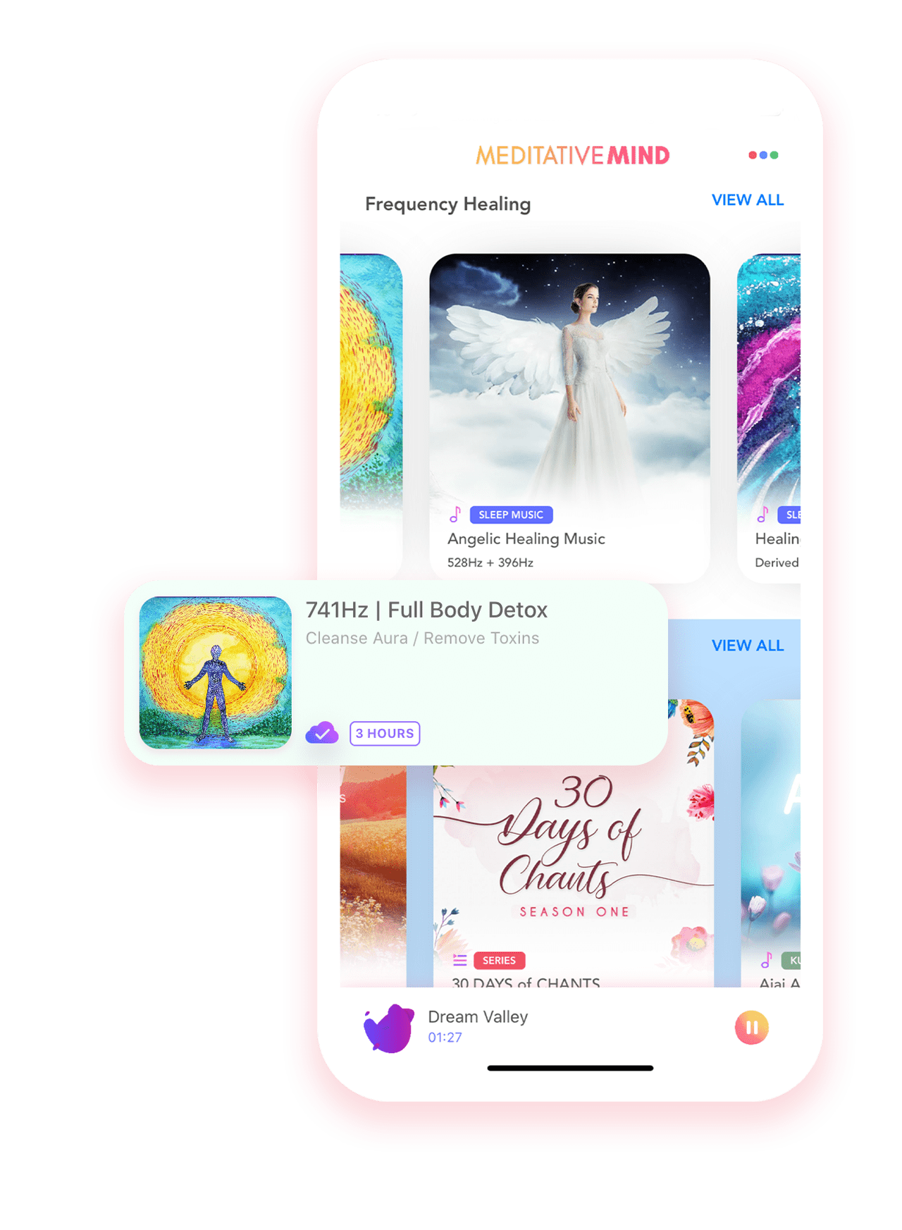 Meditative Mind App - Meditation Music